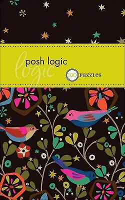 Posh Logic: 100 Puzzles by The Puzzle Society (English) Paperback Book Free Ship