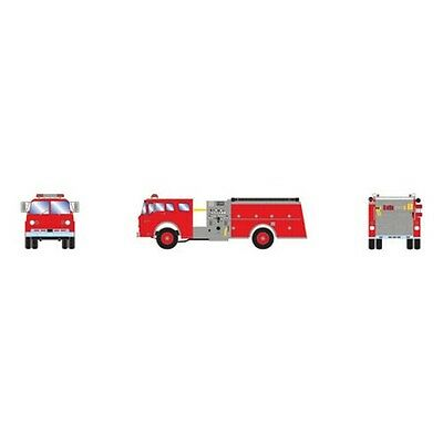 Athearn ATH92013 HO Scale RTR Ford C Fire Truck Red Vehicle