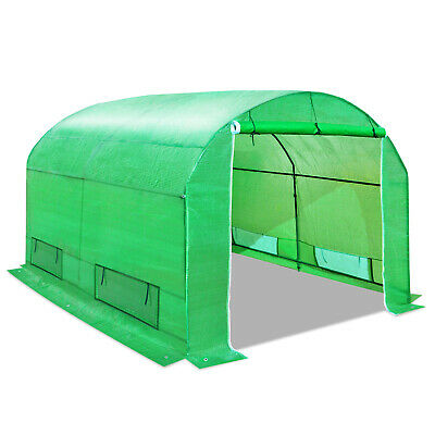 New 10'X7'X6'H Larger Walk In Greenhouse Outdoor Green House Gardening Plant