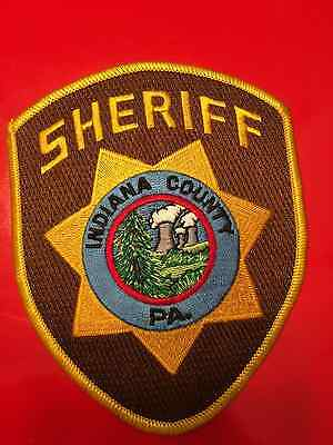 Indiana County Pennsylvania Sheriff  Shoulder Patch