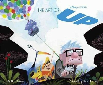 The Art of Up by Tim Hauser Hardcover Book (English)