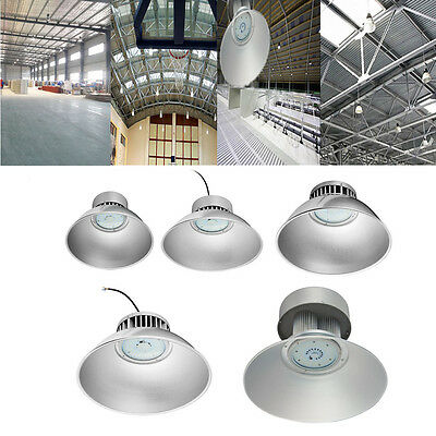 LED High Bay Warehouse Light Bright White Fixture Factory Industry Shed Lamp