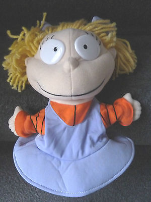 Rugrats Angelica Plush/soft Toy Hand Puppet