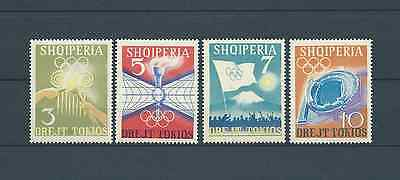 ALBANIE - 1964 YT 685 à 688 - TIMBRES NEUFS** MNH LUXE