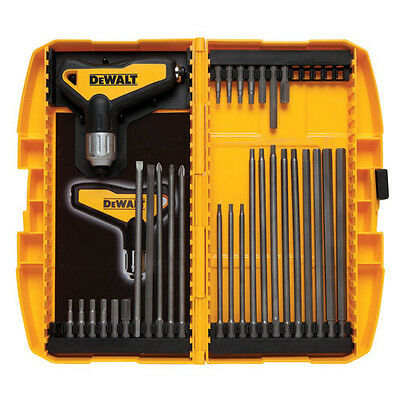 DEWALT 31 Piece Ratcheting T Handle Hex Key Set DWHT70265 New