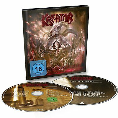 Kreator - Gods Of Violence (Preorder Out 27th January) (NEW CD / DVD)