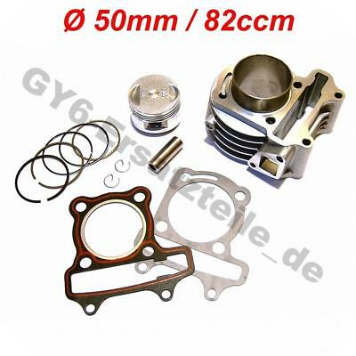 82cc ZYLINDER KIT z.B. REX CAPRIOLO RS450 RS460 RS500 CHINA ROLLER 4-TAKT GY6
