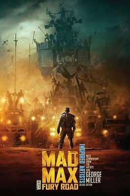 Mad Max Fury Road Inspired Artists Dlx Ed HC (Hardcover), Bermejo. 9781401259037