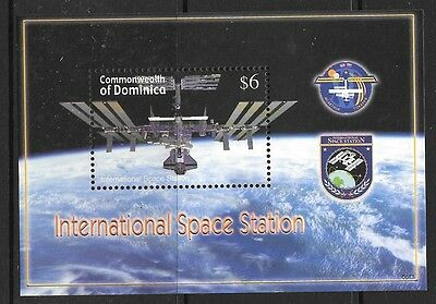 DOMINICA SGMS3499b 2006 SPACE ANNIVERSARIES MNH