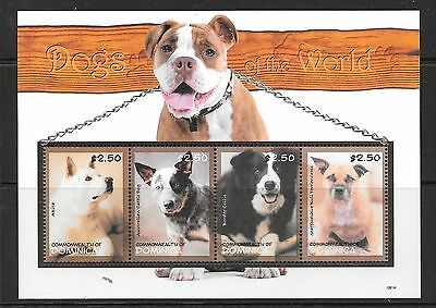 DOMINICA SG3618a 2008 DOGS SHEETLET   MNH