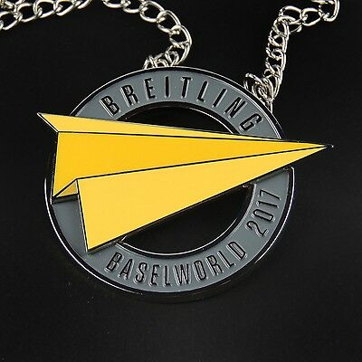 breitling luxury chain security clearance badge very rare baselworld 2011