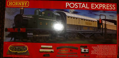 Hornby TRAIN SET THE POSTAL EXPRESS R1180 BNIB WITH TRACK PACK A