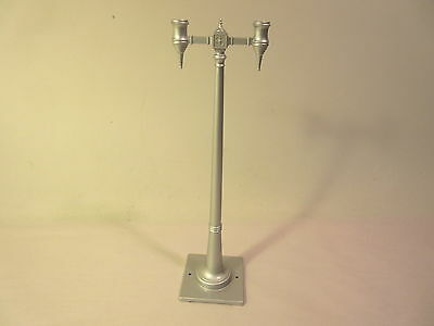 Mth 63 Double Lamp Post Diecast #1 Standard Gauge #x9948