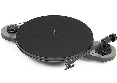 Pro-Ject (Project) Elemental DC Turntable with OM5E Cartridge - Silver