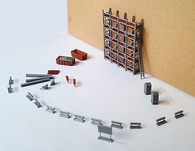 Outland Models Train Railway Construction / Maintenance Site Accessories Z Scale