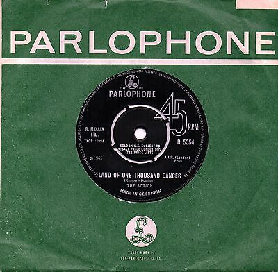THE ACTION 'Land Of One Thousand Dances' UK Parlophone Psych/Mod/Beat 45 HEAR!