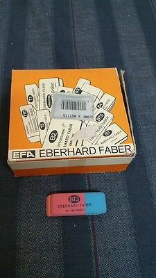 scatola gomme per cancellare Eberhard Faber BT3 eraser new old stock