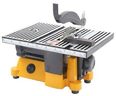 """4"""" Mini Electric Table Saw Bench Top Great For Hobby Or Craft Ships Boat Railway"""