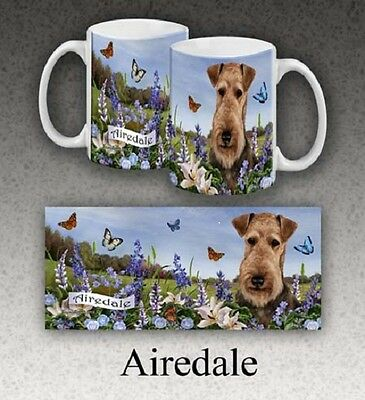11 oz. Stoneware Mug - Airedale Terrier GPM001
