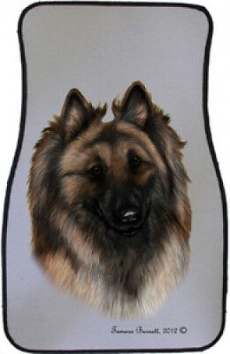 Car Floor Mats Pair - Belgian Tervuren 36083
