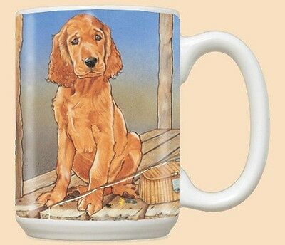 15 oz. Ceramic Mug (PS) - Irish Setter MU890