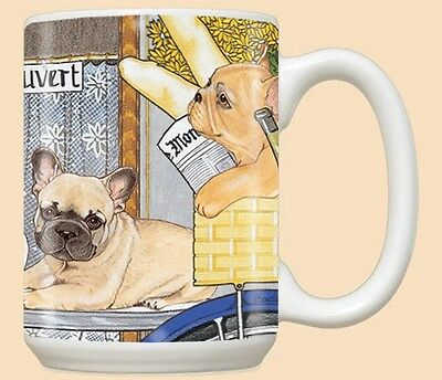 15 oz. Ceramic Mug (PS) - French Bulldog MU971