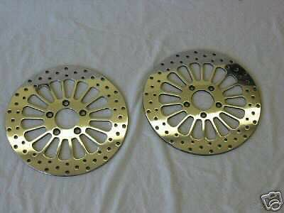 2000'-2009' Hd 11.5 Hd Brake Rotors Sportster 883-Front & Rear-Includes Bolts