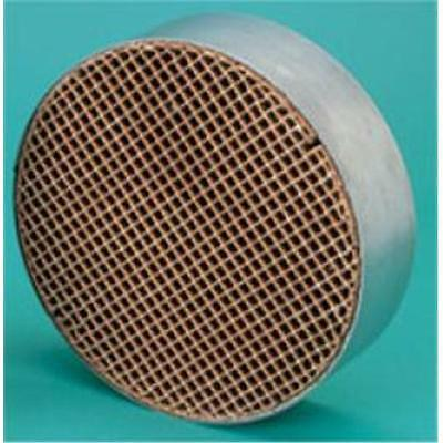 Condar Company CC-100 7 Inch Round X 2 Inch Catalytic Combustor 16 Cells/sq Inch
