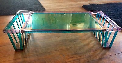 Vintage Mid Century Modern Lucite acrylic Serving breakfast bed serving Tray