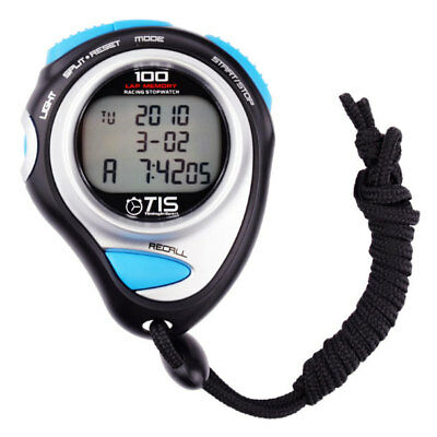TIS Pro 234 Stopwatch - Large Scale Display - 100 Laps and Split Memory rrp£23