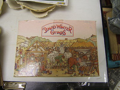 """MIB David Winter Cottages """"Stratford House"""" made in Britain in 1981 MIB COA"""