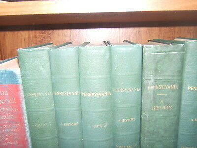 Pennsylvania A History 5 Volume Set w/ Biographical Lewis Historical Publ 1926