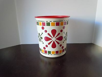 Tupperware Canister bold print 5.5L