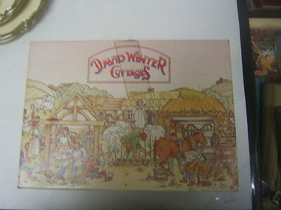 MIB David Winter Cottages 'Market Street' 1980 made in Britain by Hine COA
