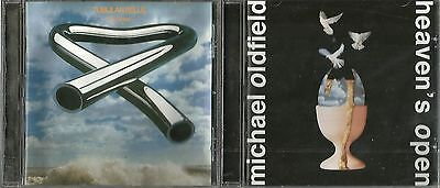 Mike Oldfield 2 Excellent Remastered Hdcd's Tubular Bells Heaven's Open