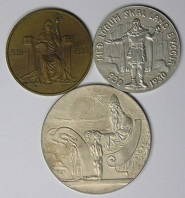 Iceland 1930 Althing 1000th Anniversary Set