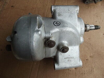 Matchless Amc Ajs Heavyweight Gearbox Assembly   5