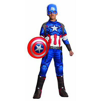 Rubie's Costume Avengers 2 Age of Ultron Boy Kids Deluxe Captain America Costume