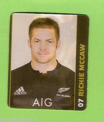 #CC5.  RICHIE  McCAW  WEETBIX  NEW  ZEALAND JUNIOR RUGBY UNION CAMP  HOLOGRAM