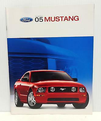 2005 Ford Mustang Brochure - GT, Features & More! Low Shipping!