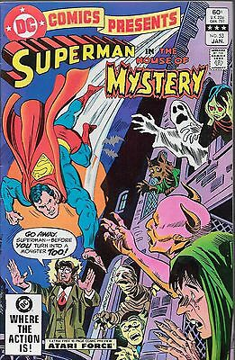 DC Comics Presents No.53 / 1983 Superman in The House of Mystery / Curt Swan