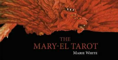 The Mary-El Tarot [With Landscapes of the Abyss] by Marie White Paperback Book (