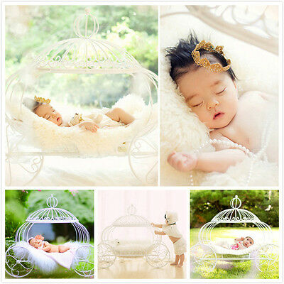 New Fairy  Pumpkin Carriage for Newborn Baby Creative Photography Prop D-61