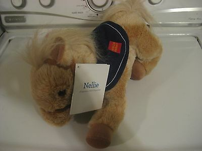 Wells Fargo Nellie Plush Horse With Tags