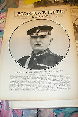 Job Lot Original Black And White Newspaper Prints On The Boer War