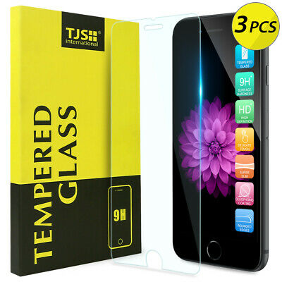 Premium Real Tempered Glass Screen Protector Guard For Apple iPhone 7