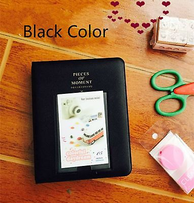 New Black 64 Pockets Album Photo Case For Polaroid Fujifilm Instax Mini8 7s 25