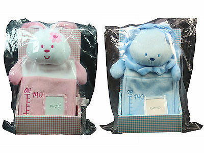 Bee Bo Newborn Baby Infant Boy Girl Plush Growth Height Chart Photo Gift Box