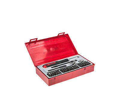 Teng TTMD74 74pc 1/4in drive and Hex Ratchet Driver Bit Set