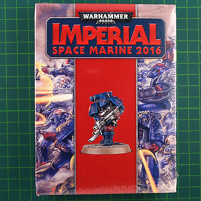 Limited Edition Rogue Trader Imperial Space Marine 2016 Warhammer 40K 0989